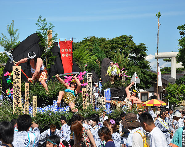 土崎港曳山まつり - 国指定重要無形民俗文化財 土崎神明社祭の曳山行事